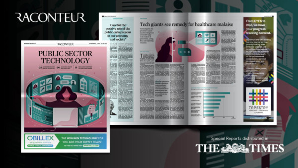 Refero in Raconteur's Public Sector Technology from The Times