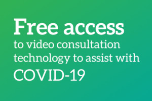 NHS, Social Care, Government and Armed Forces offered free access to video consultation technology to assit with COVID-19
