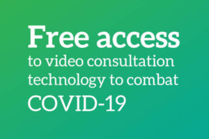 NHS, Social Care, Government and Armed Forces offered free access to video consultation technology to combat COVID-19