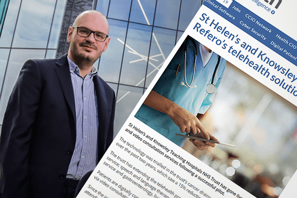 St Helens and Knowsley goes live with Refero's telehealth solutions