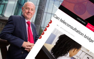 Supporting remote students through teleconsultation